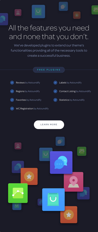 plugins included - Listify - Directory WordPress Theme