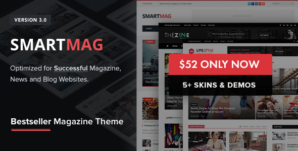 preview 52 price.  large preview - SmartMag - Responsive & Retina WordPress Magazine