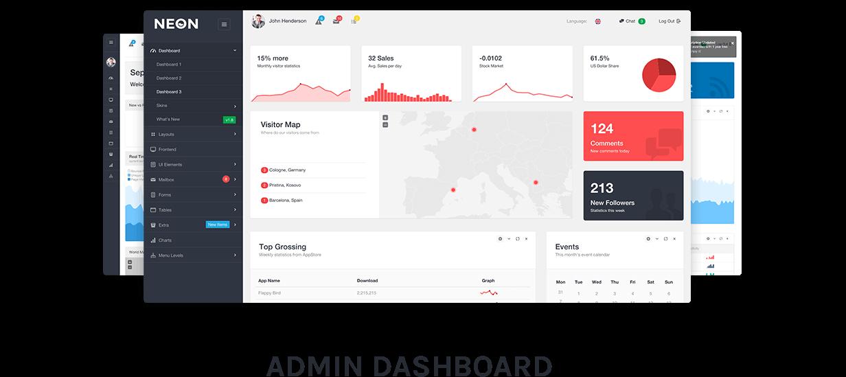 prez 3 - Neon - Bootstrap Admin Theme
