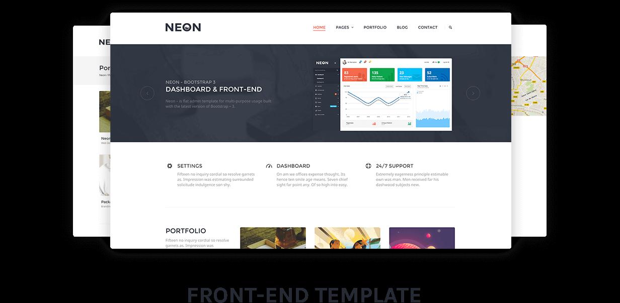 prez 4 - Neon - Bootstrap Admin Theme