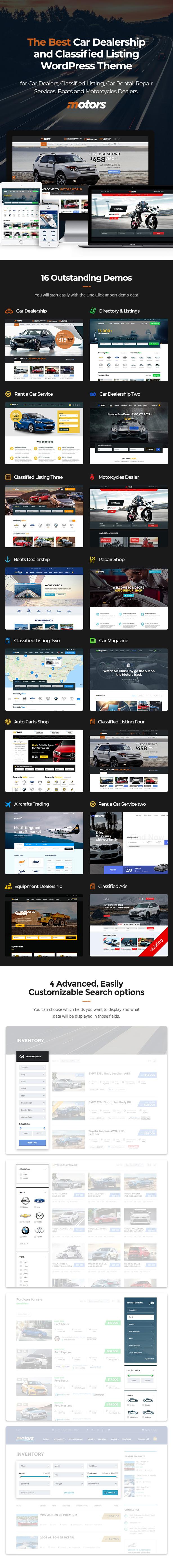 promo 1 - Motors - Car Dealer, Rental & Classifieds WordPress theme