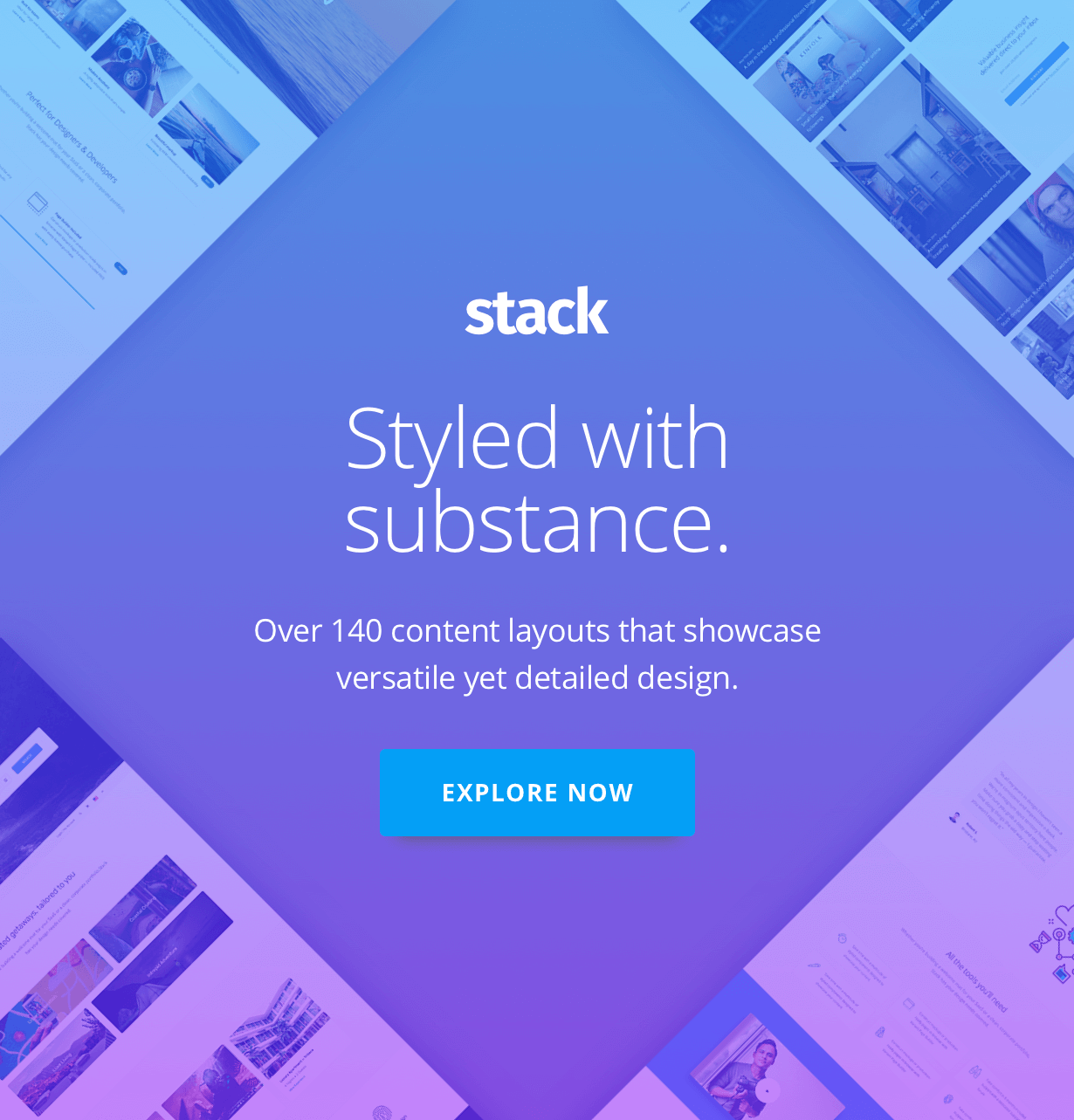 promo 1 - Stack - Multi Purpose HTML with Page Builder