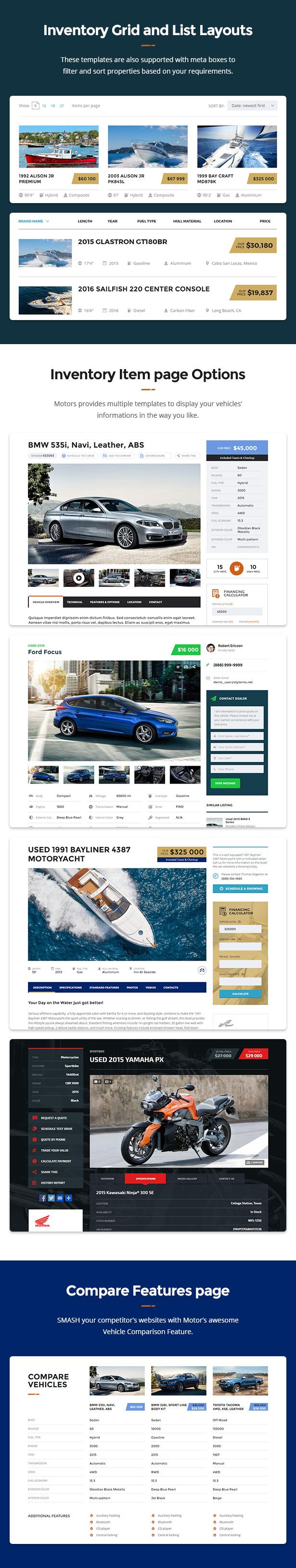 promo 2 - Motors - Car Dealer, Rental & Classifieds WordPress theme