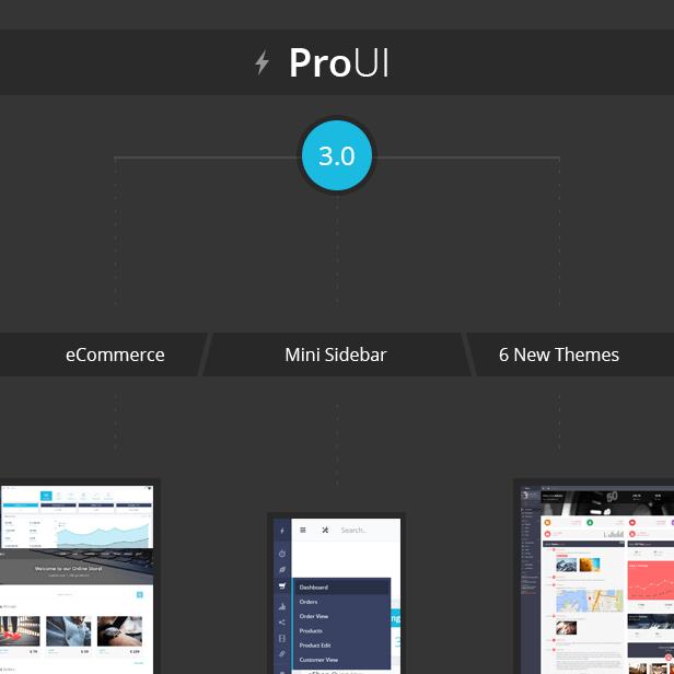 promo 3.0 - ProUI - Responsive Bootstrap Admin Template