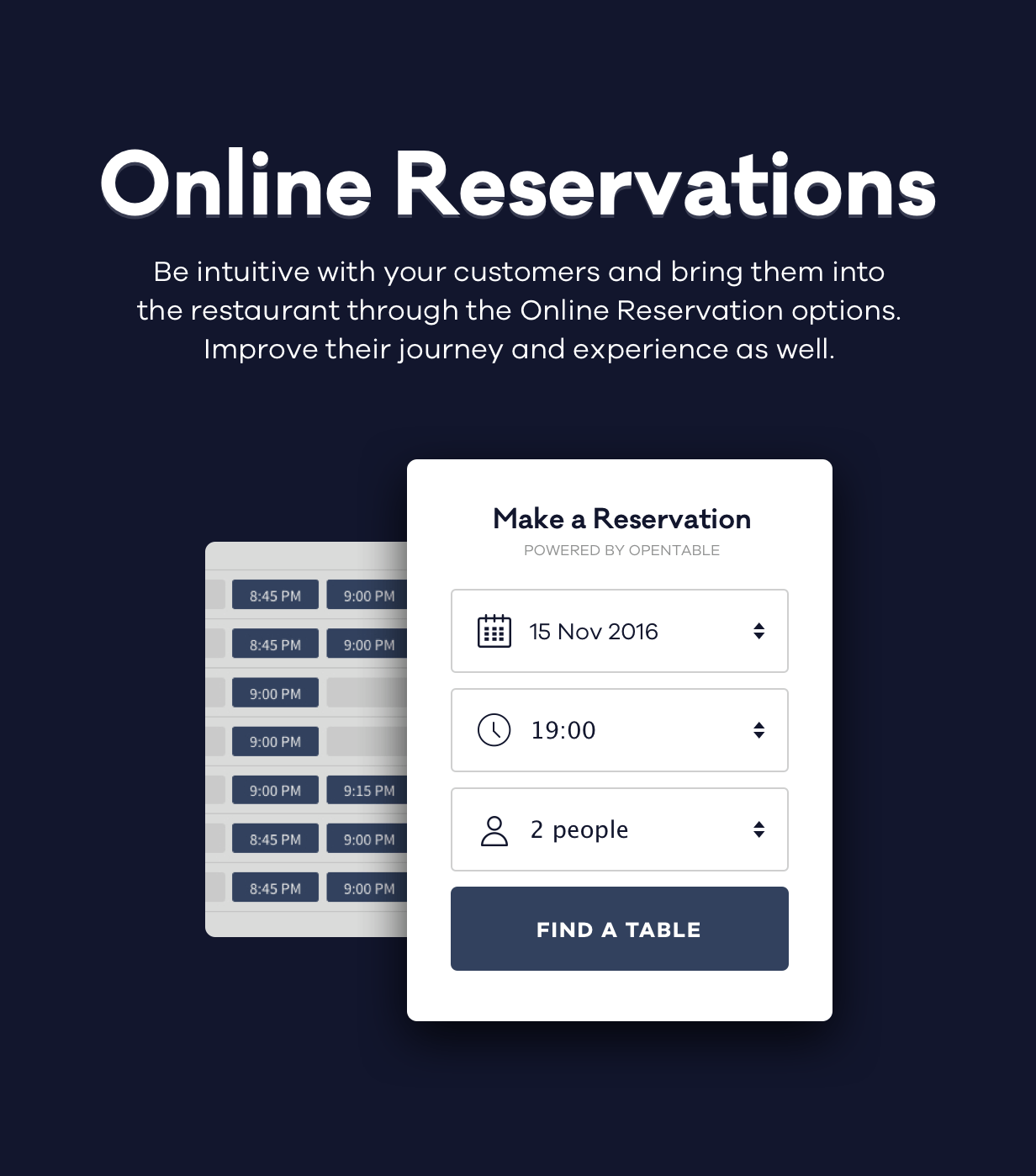 rosa reservations - ROSA 1 - An Exquisite Restaurant WordPress Theme