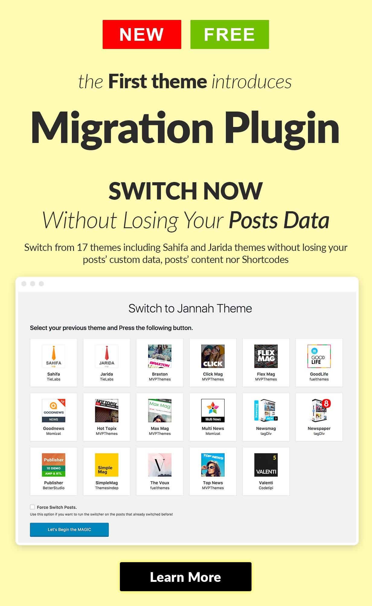 switch - Jannah - Newspaper Magazine News BuddyPress AMP
