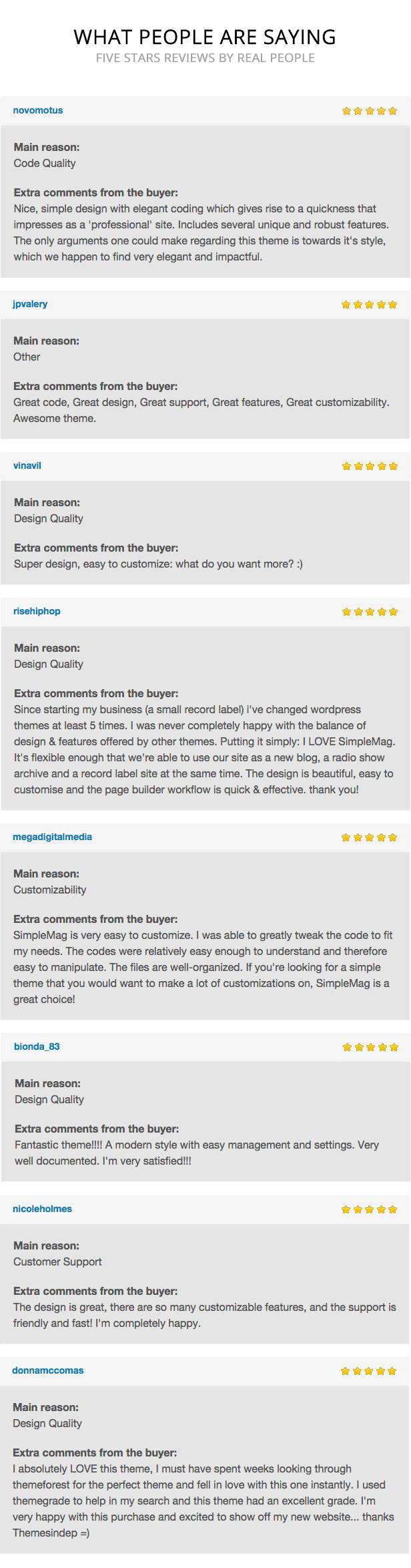 tfreviews - SimpleMag - Magazine theme for creative stuff