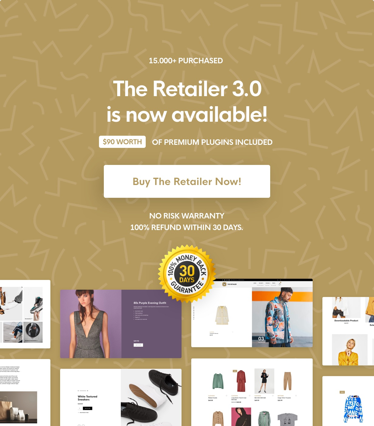 the retailer main cta - The Retailer - eCommerce WordPress Theme for WooCommerce