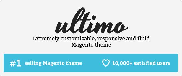 theme title - Ultimo - Fluid Responsive Magento Theme