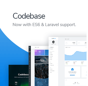 themeforest suggest codebase - ProUI - Responsive Bootstrap Admin Template