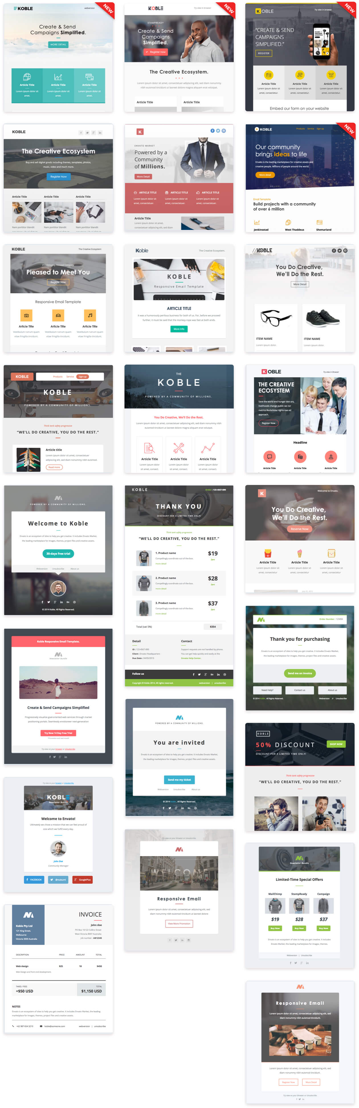 thumb - Koble | Business Email Set