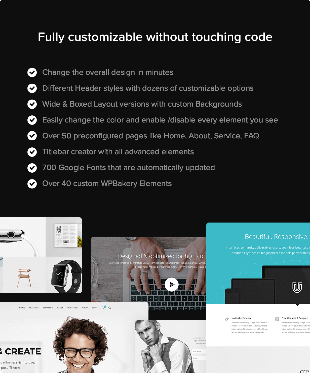 unicon customizable - Unicon | Design-Driven Multipurpose Theme