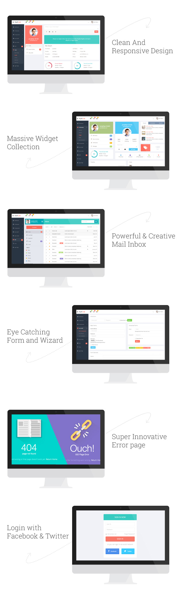 untitled by vectorlab1 d8h4mb8 - FlatLab - Bootstrap 4 Responsive Admin Template