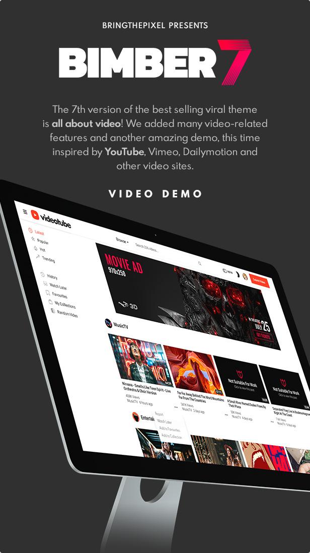 update 7 0 1 - Bimber - Viral Magazine WordPress Theme