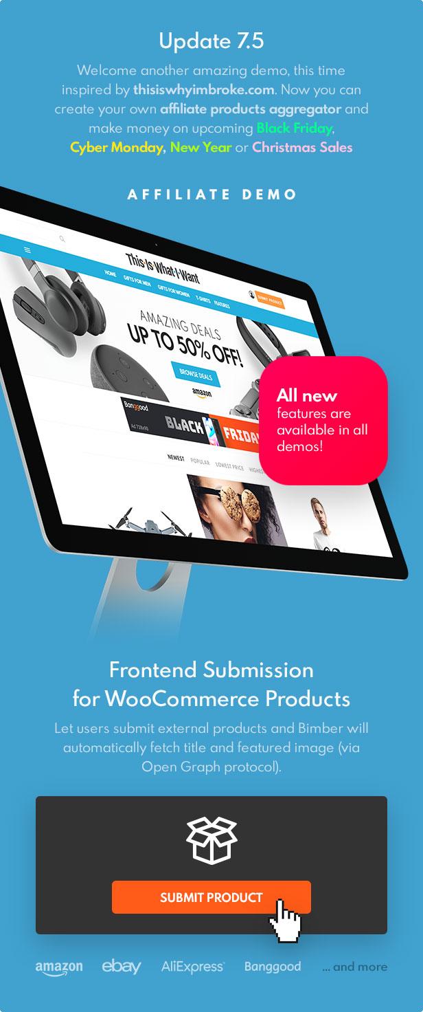 update 7 5 - Bimber - Viral Magazine WordPress Theme
