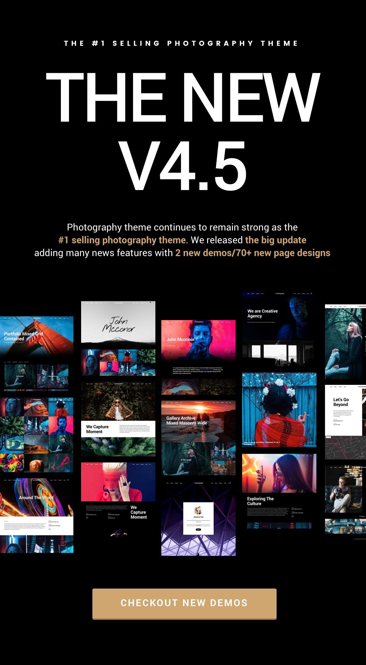 v4 5 - Photography WordPress