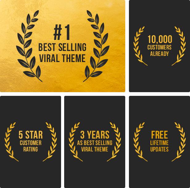 viral theme achievements v03 - Bimber - Viral Magazine WordPress Theme