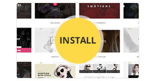 wp h code features img one click demo installation new - H-Code Responsive & Multipurpose WordPress Theme
