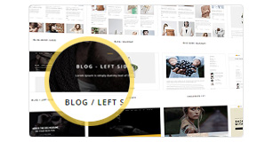 wp h code features img various blog layouts new - H-Code Responsive & Multipurpose WordPress Theme