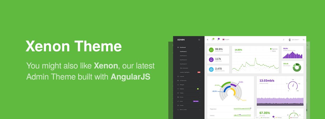 xenon - Neon - Bootstrap Admin Theme