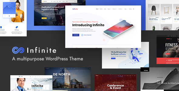 01 intro.  large preview - Infinite - Multipurpose WordPress Theme