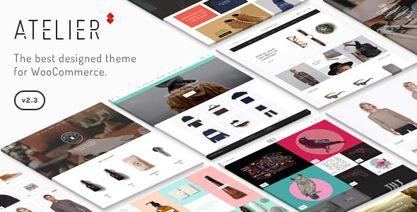 01 preview.  large preview.  large preview - Atelier - Creative Multi-Purpose eCommerce Theme