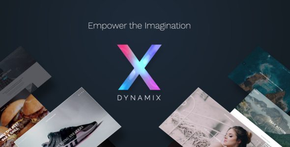 01 preview.  large preview - DynamiX - Business / Corporate WordPress Theme