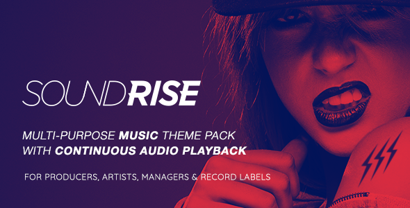01 preview 590x300.  large preview - SoundRise - Artists, Producers and Record Labels WordPress Theme