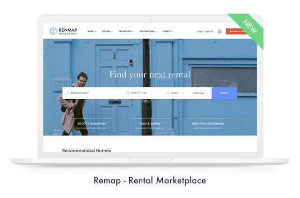 02 remap - Travel Booking WordPress Theme