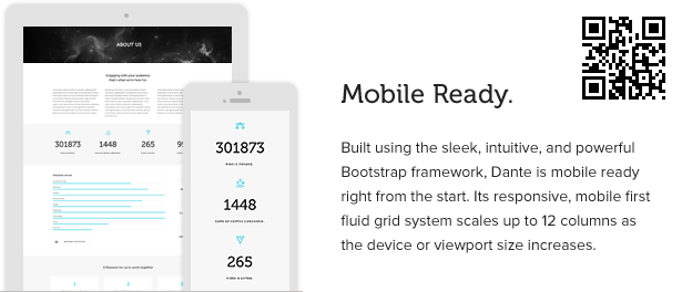 1 item page mobile - Dante - Responsive Multi-Purpose WordPress Theme
