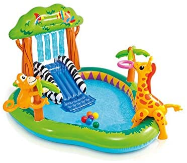 1598938745 41yS0cCa0FL. AC  - Intex Jungle Play Center Inflatable Pool with Sprayer