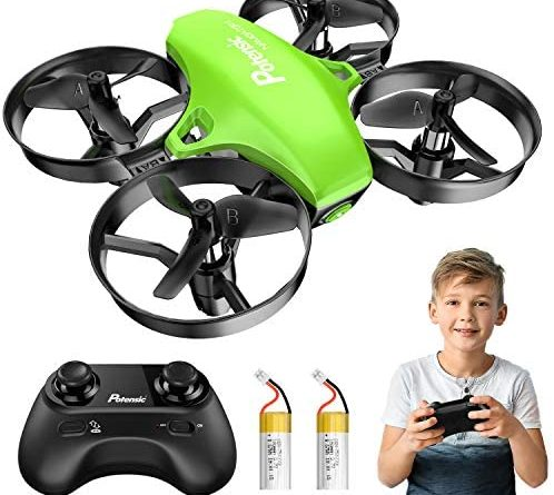 1599589132 5148Fbobm7L. AC  498x445 - Potensic Upgraded A20 Mini Drone Easy to Fly Drone for Kids and Beginners, RC Helicopter Quadcopter with Auto Hovering, Headless Mode, Remote Control and Extra Batteries - Green