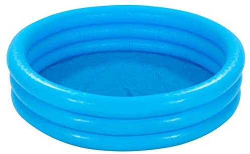 "1600022251 41CosbFzHtL. AC  - INTEX Crystal Blue Kids Outdoor Inflatable 58"" Swimming Pool 
