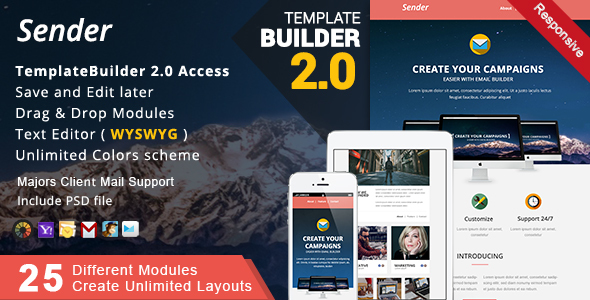 1600044103 128 01 ThemePreview.  large preview - Multimail | Responsive Email Template Set + Builder Online