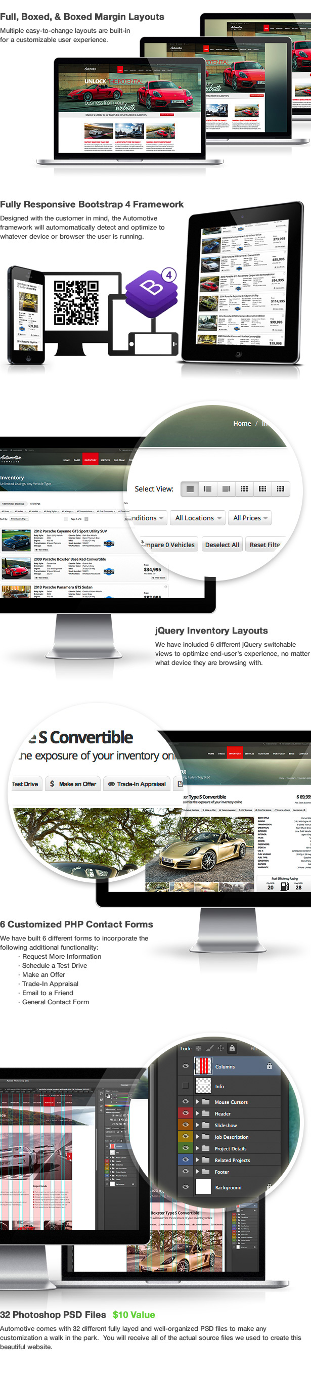 1600607039 4 features - Automotive Car Dealership Business WordPress Theme
