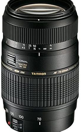 1600932544 513ixQsNveL. AC  274x445 - Tamron Auto Focus 70-300mm f/4.0-5.6 Di LD Macro Zoom Lens for Canon Digital SLR Cameras (Model A17E)