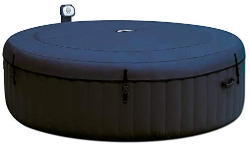 1601019049 31GvKuJ2RcL. AC  - Intex Pure Spa Inflatable 6 Person Outdoor Bubble Hot Tub and 2 Seat Inserts