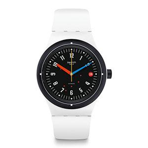 1601105639 155 570627fb f3f0 454c a5de 6d9aa592f824.  CR0,0,300,300 PT0 SX300 V1    - Swatch Swiss Quartz Silicone Strap, Transparent