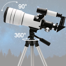 1995fcca a233 45fb a05d 87206788d26c.  CR0,0,220,220 PT0 SX220 V1    - ToyerBee Telescope for Kids &Adults &Beginners,70mm Aperture 300mm Astronomical Refractor Telescope(15X-150X),Portable Travel Telescope with an Adjustable Tripod,A Phone Adapter&A Wireless Remote
