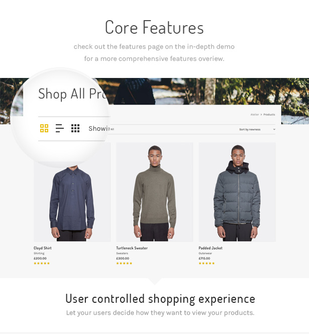2 atelier shop switcher - Atelier - Creative Multi-Purpose eCommerce Theme