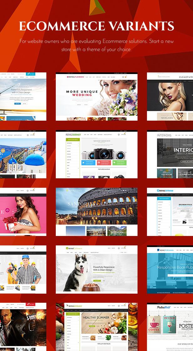 2 - Royal - Multi-Purpose WordPress Theme