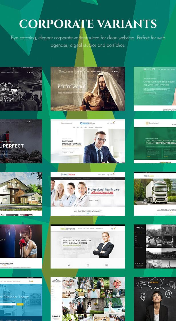 3 - Royal - Multi-Purpose WordPress Theme