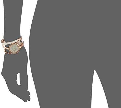 315392hUSzL. AC  - Anne Klein Women's Bangle Watch and Swarovski Crystal Bracelet Set, AK/1470