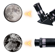 327a008e cd1c 4e5f 966b c795d6443817.  CR0,0,220,220 PT0 SX220 V1    - ToyerBee Telescope for Kids &Adults &Beginners,70mm Aperture 300mm Astronomical Refractor Telescope(15X-150X),Portable Travel Telescope with an Adjustable Tripod,A Phone Adapter&A Wireless Remote