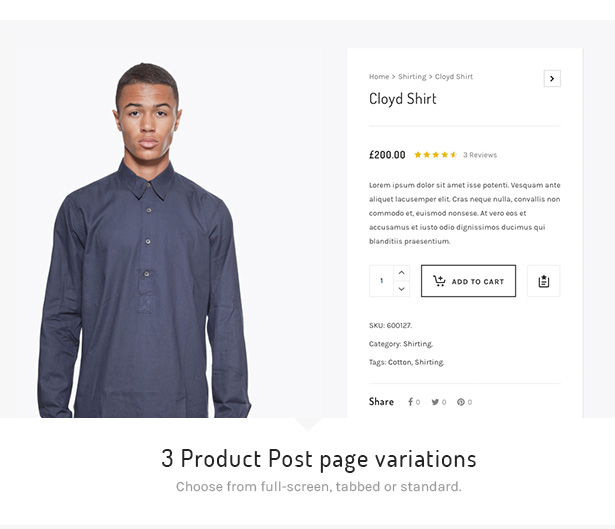 4 atelier product pages - Atelier - Creative Multi-Purpose eCommerce Theme