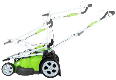 4181yg6MshL. AC  - Greenworks 40V 20-Inch Cordless Twin Force Lawn Mower, 4Ah & 2Ah Batteries with Charger Included