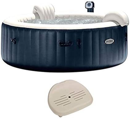 41M6eZu1muL. AC  - Intex Pure Spa Inflatable 6 Person Outdoor Bubble Hot Tub and 2 Seat Inserts