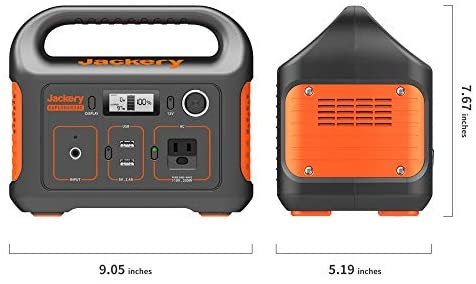 41N3uHxRBkL. AC  - Jackery Portable Power Station Explorer 240, 240Wh Backup Lithium Battery, 110V/200W Pure Sine Wave AC Outlet, Solar Generator (Solar Panel Not Included) for Outdoors Camping Travel Hunting Emergency
