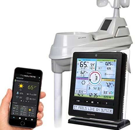 41OviadOAL. AC  464x445 - AcuRite Wireless Home Station (01536) with 5-1 Sensor and Android iPhone Weather Monitoring