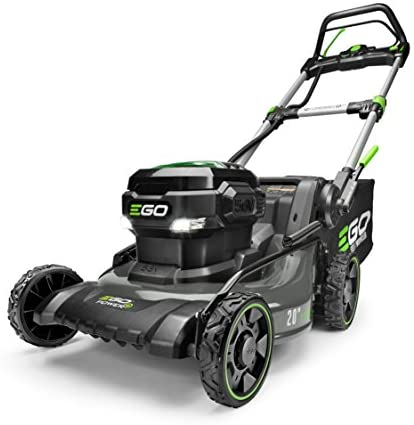 41b1eXavvbL. AC  - EGO Power+ LM2020SP 20-Inch 56-Volt Lithium-ion Brushless Walk Behind Steel Deck Self-Propelled Lawn Mower - Battery and Charger Not Included
